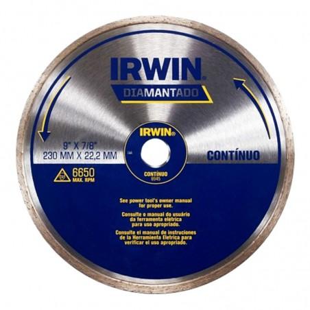 DISCO DIAMANTADO 9  CONTINUO IRWIN IW8945