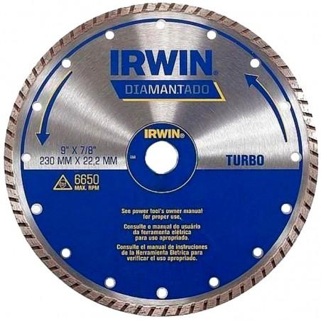 DISCO DIAMANTADO 9 TURBO IRWIN IW8952