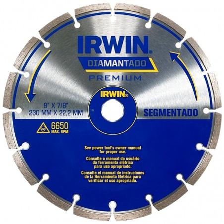 DISCO DIAMANTADO 9 SEGMENTADO IRWIN IW8948