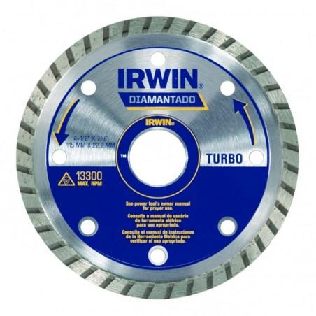 DISCO DIAMANTADO 4.1/2  TURBO IRWIN IW8950
