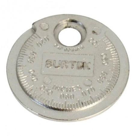 Calibrador Tipo Rampa Para Bujía 107336 Surtek