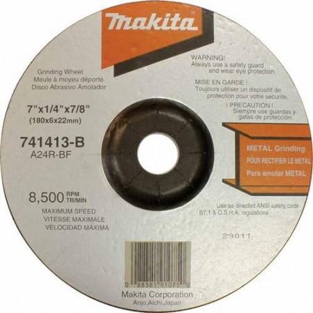 DISCO ABRASIVO MAKITA PULIR METAL 741413B