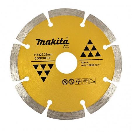 DISCO DIAMANT SEGMENTADO MAKITA 5X5/8 PULG A84115