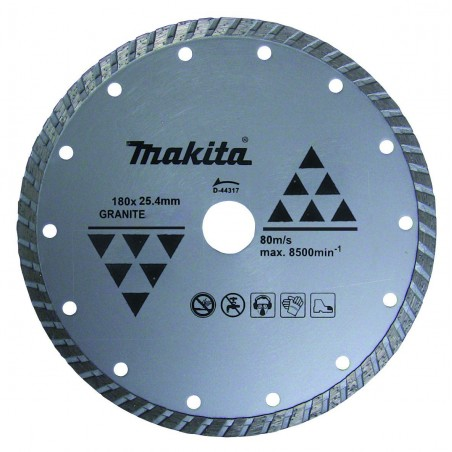 DISCO DIAMANTADO TURBO MAKITA 7X1 PULG A84078