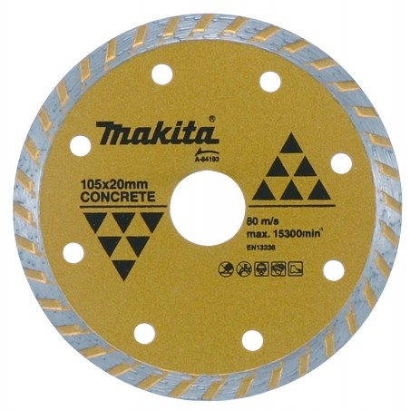 DISCO DIAMANTADO TURBO MAKITA 7X5/8 PULG A84165