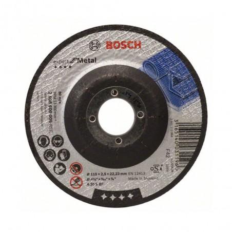 KIT 2 DISCOS ABRASIVOS CORTE 4-1/2 BOSCH 2608600C05