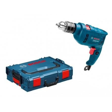 Taladro Percutor 1/2 GSB550 + Caja L-boxx Bosch
